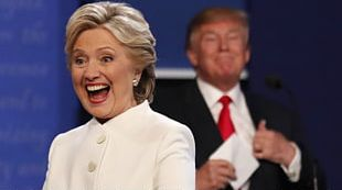 Hillary Clinton Donald Trump United States Presidential Debates US Presidential Election 2016 PNG
