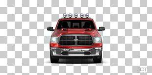 Bumper Car Pickup Truck Truck Bed Part Motor Vehicle PNG