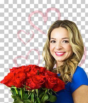 Cut Flowers Rose Flower Bouquet Woman PNG