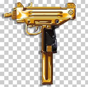 Firearm Weapon Uzi Pistol PNG