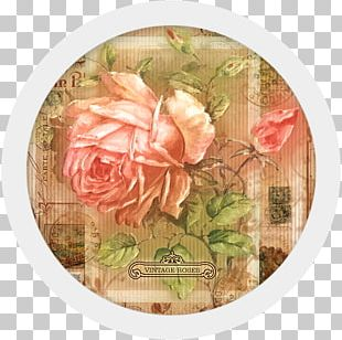 Garden Roses Paper Exercise Book Packaging And Labeling Bag PNG
