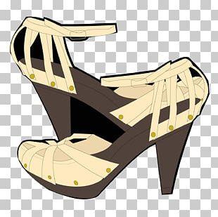 High-heeled Footwear Sandal Shoe Livery PNG