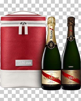Champagne G.H. Mumm Et Cie G.H. Mumm Cordon Rouge Brut Rosé Wine PNG