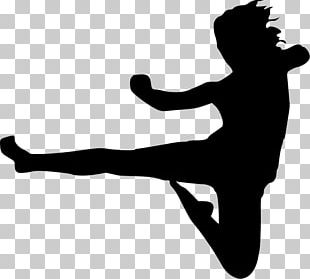 Karate Flying Kick Martial Arts PNG