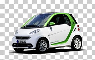 2013 Smart Fortwo Electric Drive 2014 Smart Fortwo Electric Drive Car PNG