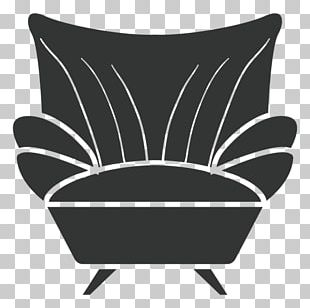 Wing Chair Couch Bergère Furniture PNG
