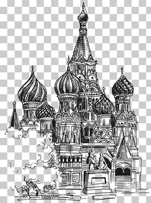 Saint Basil's Cathedral Church Of The Savior On Blood PNG