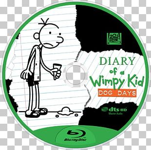 Diary Of A Wimpy Kid: Dog Days Book Film Blu-ray Disc PNG