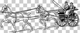 Horse And Buggy Horse-drawn Vehicle Carriage PNG