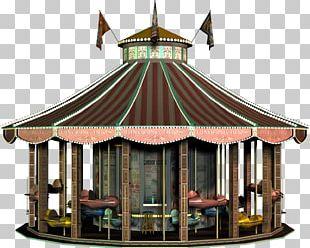 Amusement Ride Gazebo Amusement Park PNG