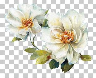Flower Chinese Painting Floral Design Art PNG