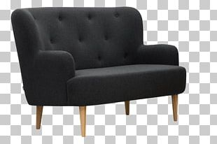 Loveseat Couch Furniture Club Chair Family Room PNG