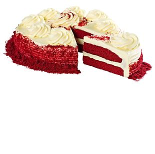 Red Velvet Cake Frosting & Icing Birthday Cake Cupcake Torte PNG