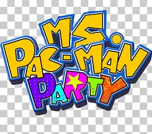 Pac-Man Party Ms. Pac-Man Wii Video Game PNG