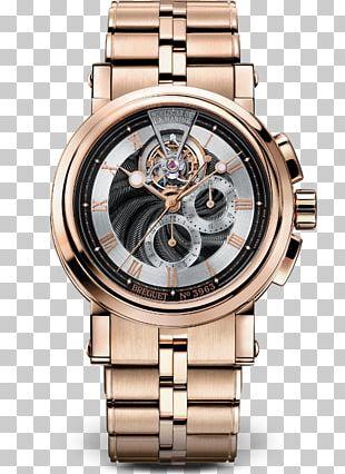 Breguet Watch Clock Complication Gold PNG