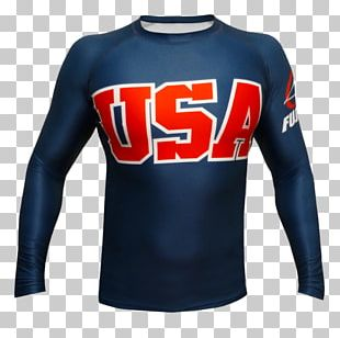 Sports Fan Jersey T-shirt Rash Guard Brazilian Jiu-jitsu Sleeve PNG