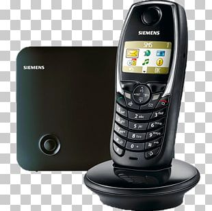 Feature Phone Mobile Phones Telephone Gigaset Communications Gigaset SL100 Cordless Phone PNG