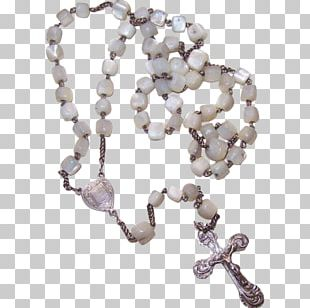 Bead Rosary Body Jewellery Necklace Gemstone PNG