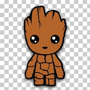 Baby Groot Star-Lord PNG