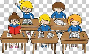 Classroom Student Cartoon PNG