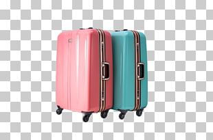 Hand Luggage Pink Baggage Suitcase PNG
