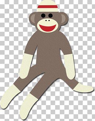Sock Monkey T-shirt PNG
