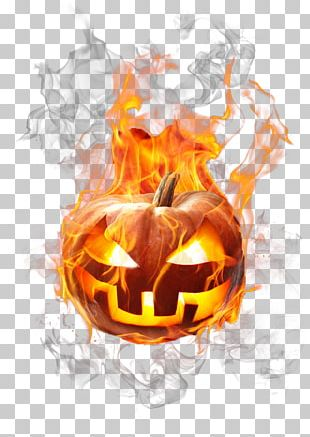 Jack-o'-lantern Halloween Pumpkin Flame PNG