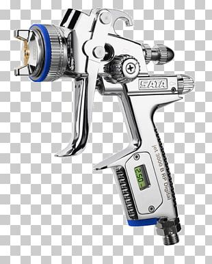 SATA Pistola De Pintura Spray Painting High Volume Low Pressure PNG