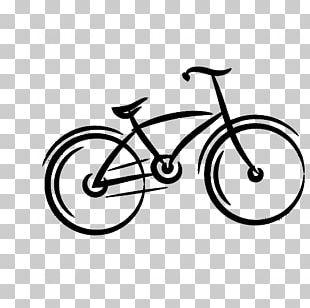 Drawing Bicycle Bike Rental PNG