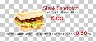 Breakfast Sandwich Cheeseburger Toast Fast Food Veggie Burger PNG
