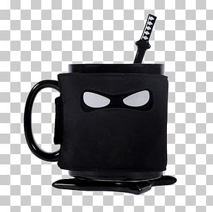 Tea Coffee Mug Ceramic Ninja PNG