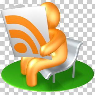 Orange Chair PNG