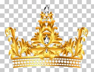 Crown Text Tiara Yellow Illustration PNG