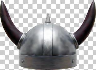 Viking Age Horned Helmet Combat Helmet PNG