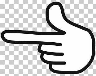 Line Art Finger Thumb PNG