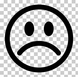 Smiley Sadness Drawing PNG
