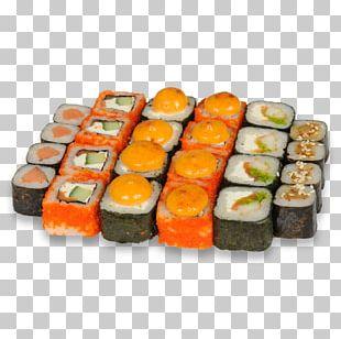Sushi Makizushi California Roll Gimbap Japanese Cuisine PNG