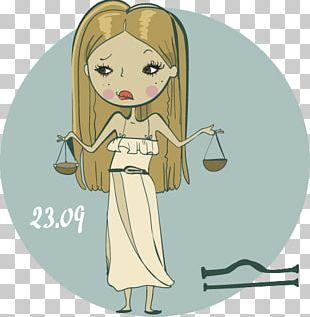 Cartoon Girl Woman Illustration PNG