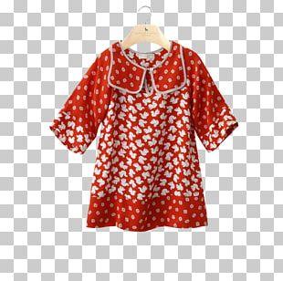 Polka Dot Dress Sleeve Clothing Fashion PNG