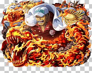 Akainu One Piece Treasure Cruise Borsalino Monkey D. Luffy PNG
