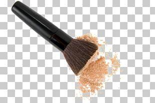 Cosmetics Makeup Brush Face Powder Foundation PNG
