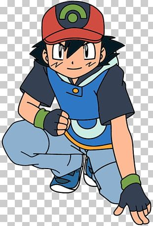 Ash Ketchum Pokémon GO Pokémon Red And Blue May PNG