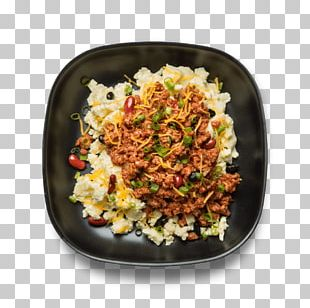 Chili Con Carne Vegetarian Cuisine Fried Rice Food Dish PNG