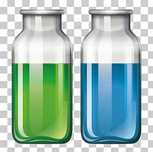 Glass Bottle Liquid PNG
