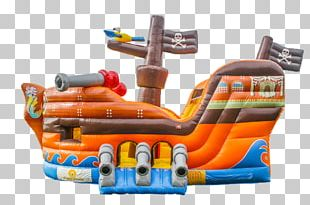 Inflatable Child Pirate Ship Piracy Game PNG