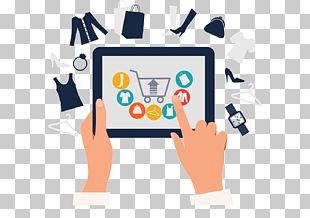Online Shopping E-commerce Icon PNG