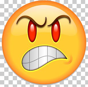 Emoji Anger Smiley Emoticon PNG