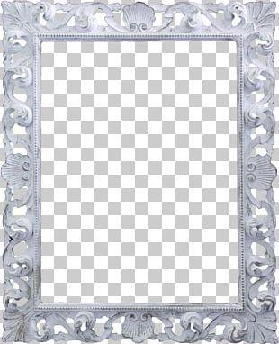 Frame White Pattern PNG