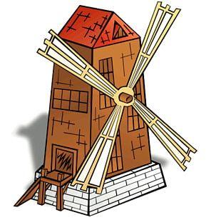 Windmill PNG