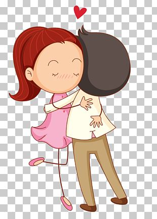 Love Cartoon Romance Hug PNG